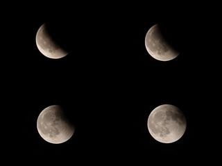 月が満ちていく